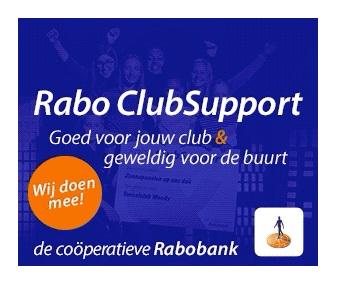 Rabo Clubsupport van start!
